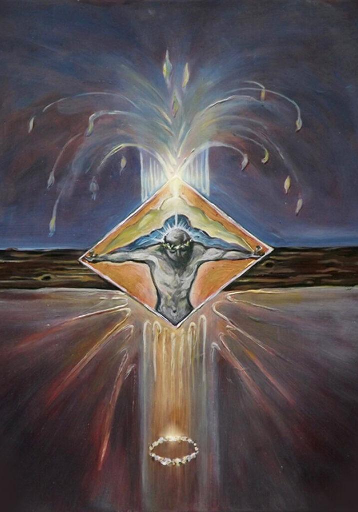 Crucifixion births liberation